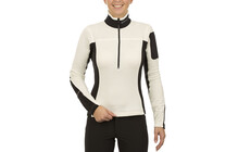 Montura Pile sweat Femme Stretch, Light blanc/noir